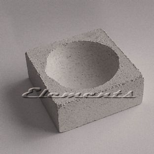 "2"" Square Scorifier Melting Casting Crucible"